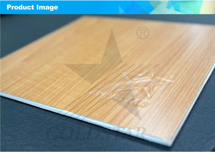 Goldstar Wood Grain Decorative ACP ACM Wall Panel
