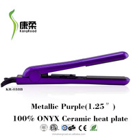 Newest Ceramic Ionic Professional Salon hair flat iron manufacturer