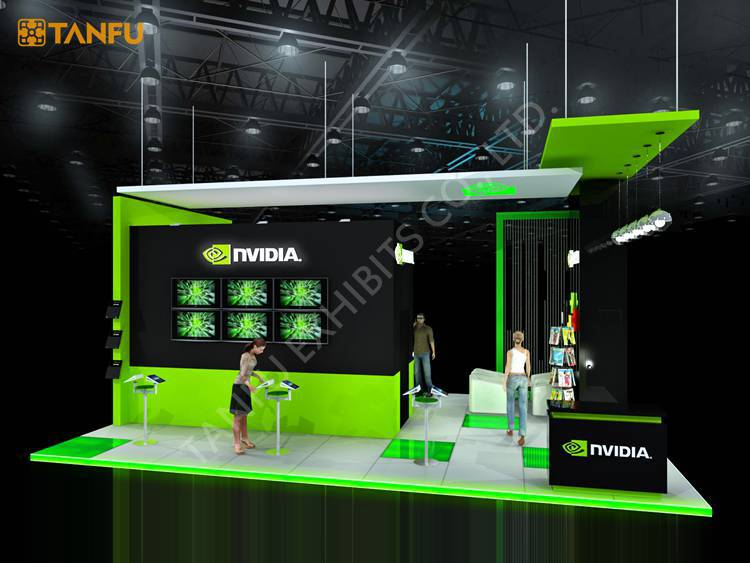 Exhibition Booth Equipment : Or trade show booth equipment for game from