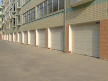 European style and Customized size garage door panels, electrical panels