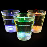 Shot Glass with Blinking LED Light