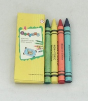 High Quality 4 Colours Wax Crayon