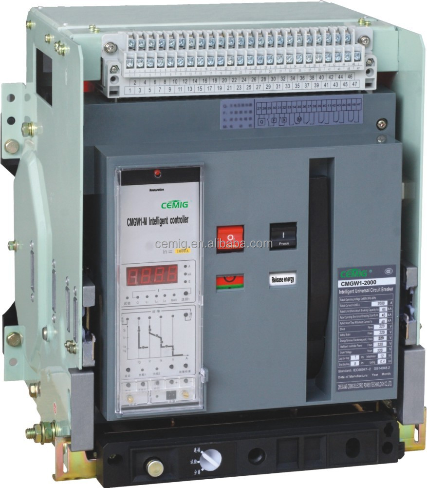 Intelligent type universal circuit breaker ACB 3200A