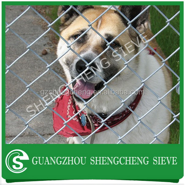 Factory manufacturer chain link rolling cheap dog fence