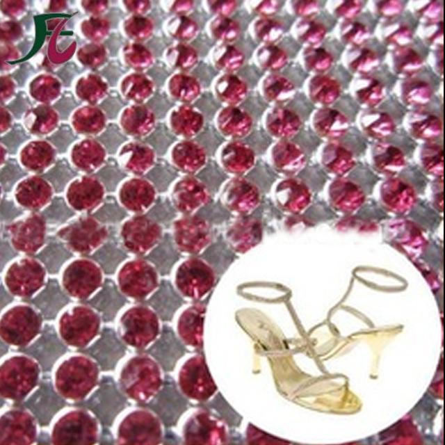 Fancy Stones 3mm Hotfix Rhinestone Mesh for Bags Decoration a82595c56734