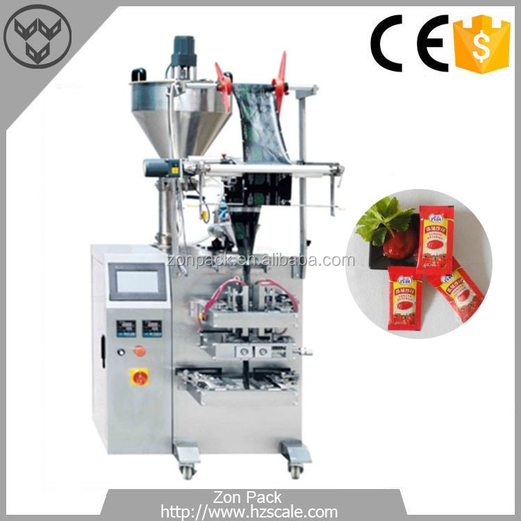 Tomato Ketchup Sachet Packing Machine Small Liquid Packing Machine ZH-V70