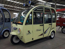 Peru Closed Body Type and Electric Driving Type electro-tricycle for passengers