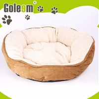 Pet Accessories Wholesale Designer 100% Polyester Bamboo Dog Bed