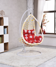factory direct hanging chair outdoor swings with eyes baby swing garden chair