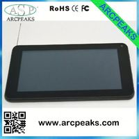 7 inch tablet with tv antenna