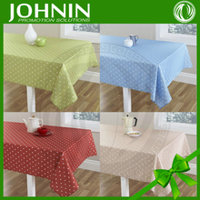 Wholesale Square Cotton Woven Reactive Printed Tablecloth