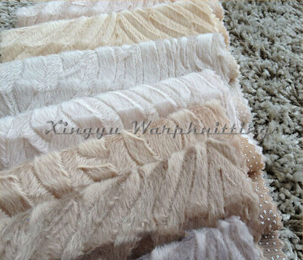 plain dyed cuttd velboa with plastic back for Turkey market