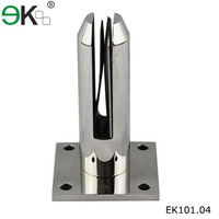 frameless mirror glass mounting hardware,oval spigot