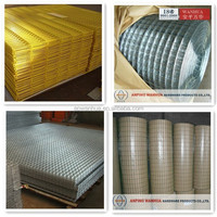 "powder coated welded wire mesh panels/ 3/8"" welded wire mesh"