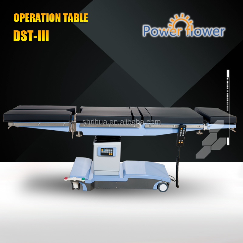 Factory price With CE ISO 13485 FDA multi-fonction operation table surgical operation table electro hydraulic operation table