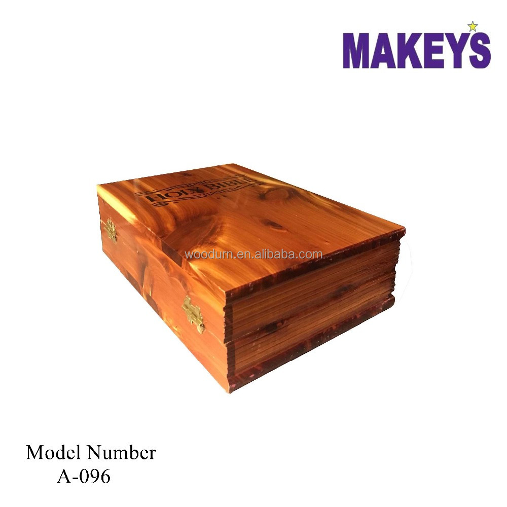 Wooden Bible Book Box Wholesale