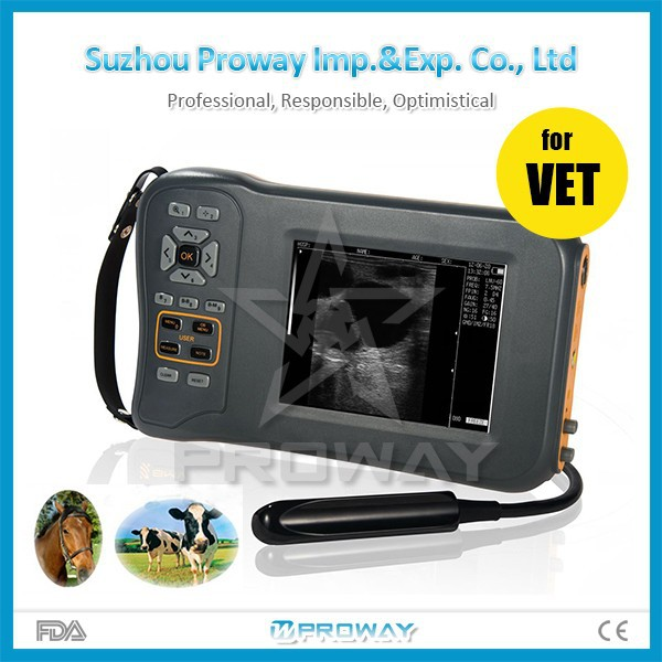Proway Portable Handheld Veterinary Ultrasound Machine Diagnostic Equipment