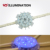 4.32W 24V waterproof flexible led rgb dot magic string