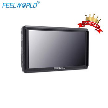 FEELWORLD S55 DSLR Camera Field Monitor IPS 1280x720  4K HDMI Input Output 5.5 inch hdmi monitor with Peaking Focus Assist