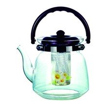 Hot Selling Turkish Glass Water Tea Pot With Infuser