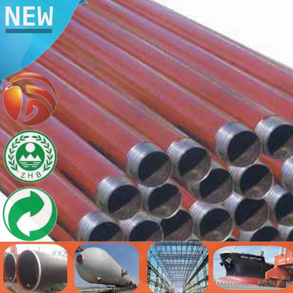 S45C/45C/1045/45# Custom Sizes High Quality water well drill pipe used Wall Thickness drill stem pipe for sale