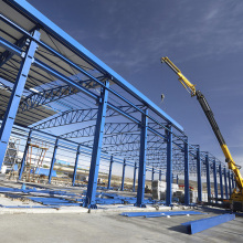 High Quality Galvanized Construction & Real Steel Structure Building