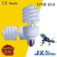 Compact Fluorescent UVB 2.0 5.0 10.0 Reptile UV Light 13w 25w