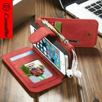 Hot Selling Luxury Leather Case for Iphone5 Foldable Stand Smart Cover for IPhone 5s for iPhone Se Case Cover