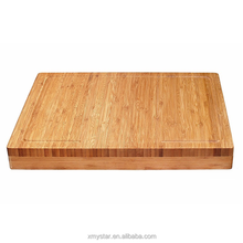 extra large and thick bamboo wood cutting board, butcher chooping block, perfect cheese serving tray factory BSCI