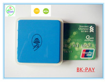 Smallest 3 in 1 bluetooth chip card reader