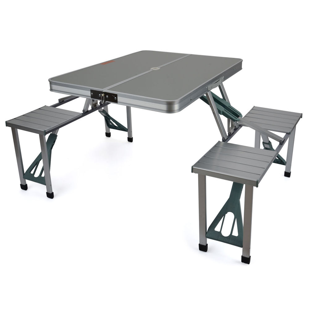 Camping Folding Table And Chairs Set Wholesale Aluminium Folding Portable Picnic Outdoor Camping Set
