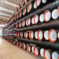 DAT Group ductile iron pipe with BV and ISO certification