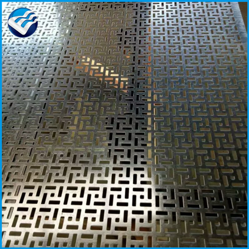 diamond pattern decorative drying plant aluminum perforated metal wire mesh