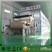 high speed Kraft paper, cardboard paper and test liner paper making machine and whole plant supply