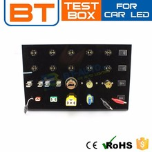 How to Test LED Lights,Multifunction LED Car Base test,LED Lighting Display