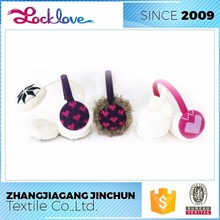Strict Quality Control Manufacturer Fashion Multicolor Animal Ear Muff
