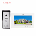 7inch color video door phone villa wire video intercom system