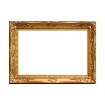 Gold/Silver Baroque Style Classical Wooden Painting Picture Frames