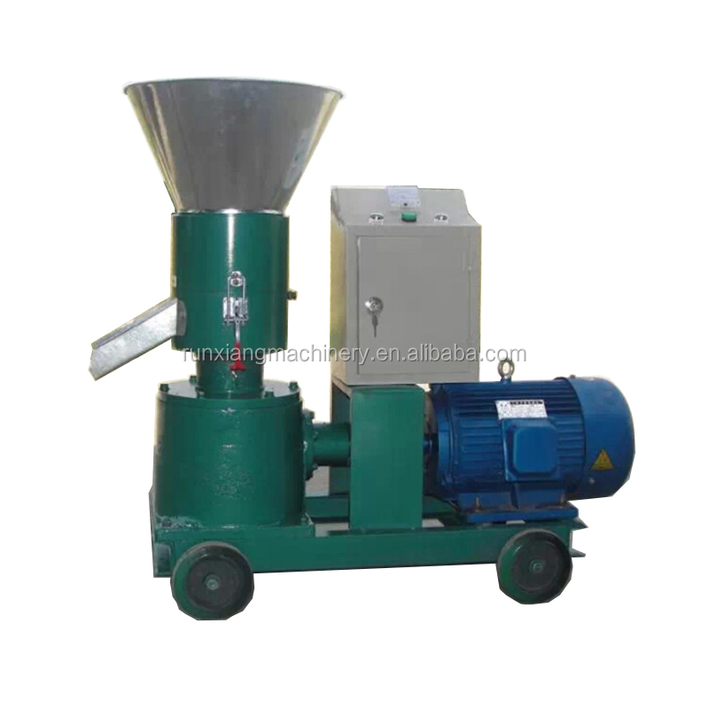 Light and handy capacity 75-100 kg/h goat pig animals feed pellet making mill machine price for sale