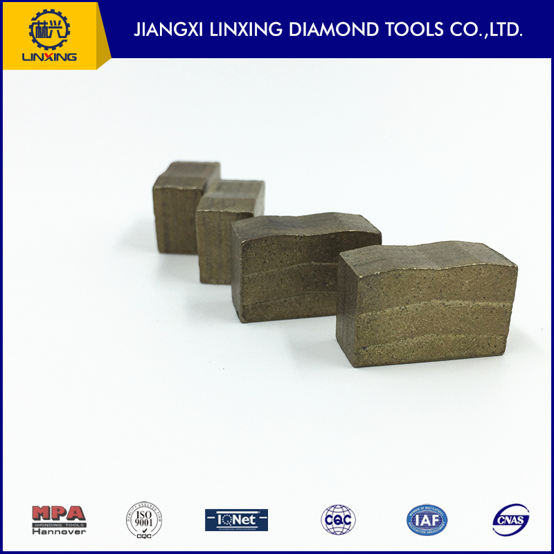 Block Stone Cutter Tips High Frequency Welding Granite Diamond Cutting Tips
