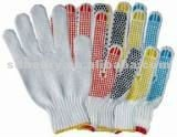 String kitted glove