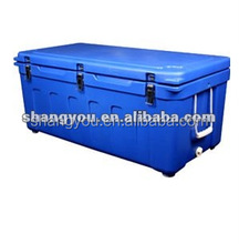 180L rotomolded insulated marine ice bin cooler