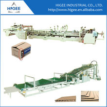 Manufacture price Corrugated cardboard folder gluer carton box gluing automatic folding carton box gluing machine