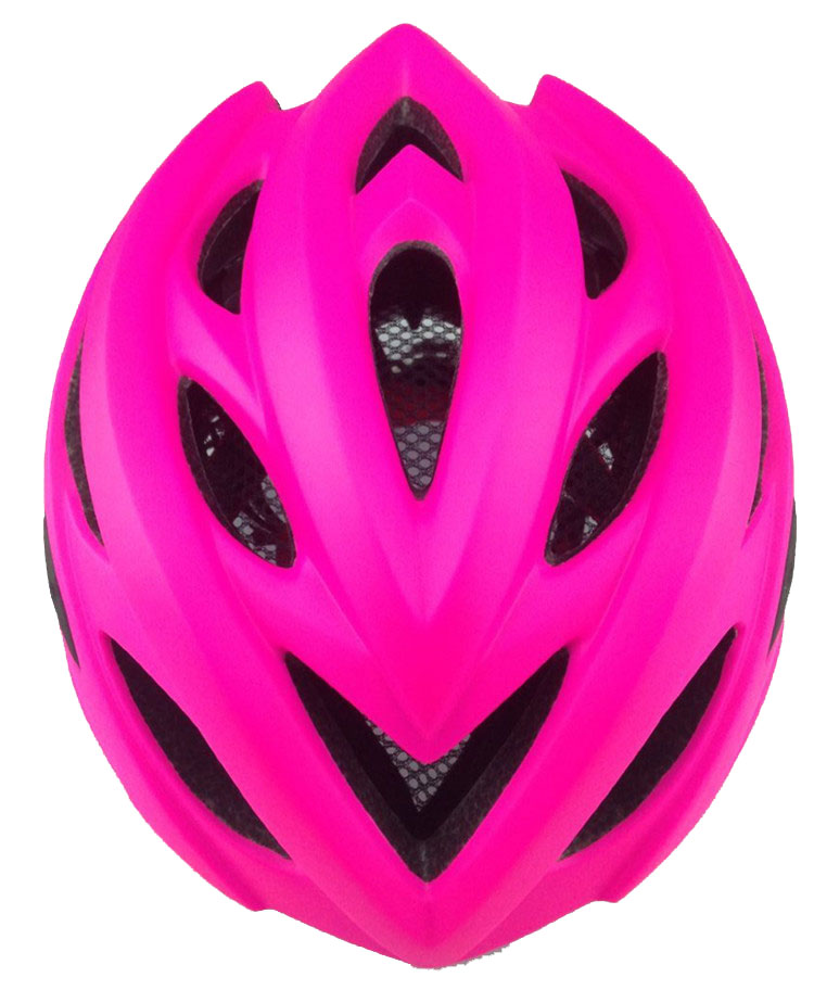 Fashion design EPS PC Ultralight road off street bicycle street girls bike helmet