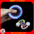 CE&rRohs Certification Business Gift Finger Toys LED Flashing Hand Spinner Manufacturer China Metal Hand Spinner