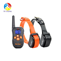 210 Yards Waterproof Rechargeable LCD Dog Training Collar With Remote No Shock