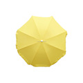 yellow color sun and rain beach umbrella