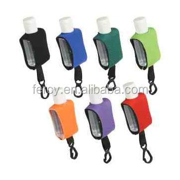 Promotional 0.5 oz Hand Sanitizer Neopreone Holder