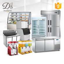 Good quality used supermarket commercial refrigeration equipment for fruits and vegetables