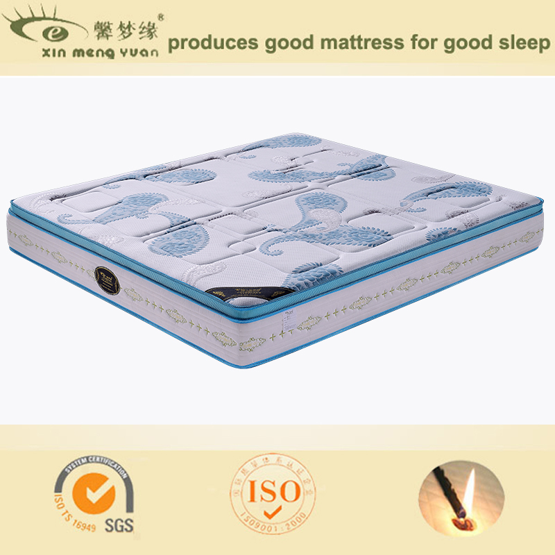 china make pocket spring royal foam mattress